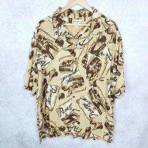 Panama Jack Rum Bottles Graphic Hawaiian Shirt